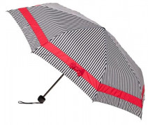 Stripes With Red Bow - Folding