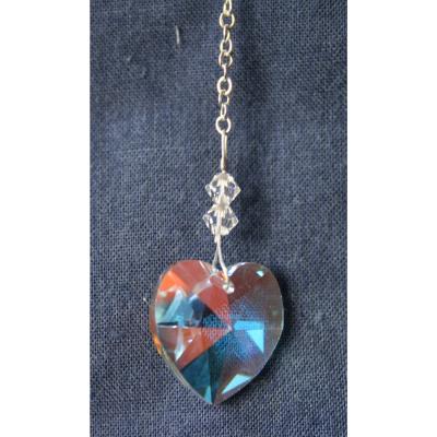 Heart 18mm – Aurora Borealis