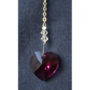 Heart 18mm – Fuchsia