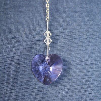 Heart 18mm – Violet
