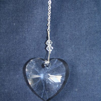 Heart 28mm – Crystal