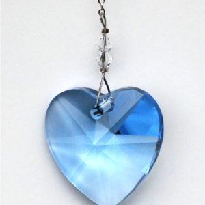 Heart 28mm – Sapphire
