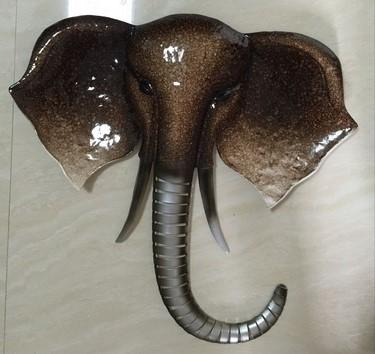 Elephant Head Wall Art