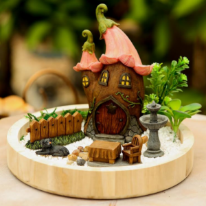 Fairy Garden – Flower House