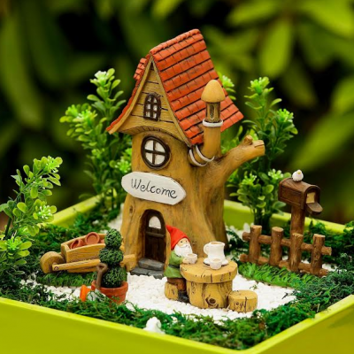 Fairy Garden – Tree House