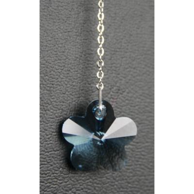 Flower 18mm – Aquamarine