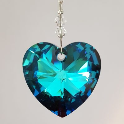 Heart 28mm – Bermuda Blue