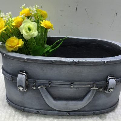 Suitcase Planter Oval