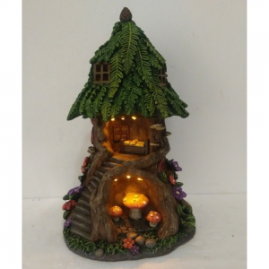 Cave Tree House Solar Light