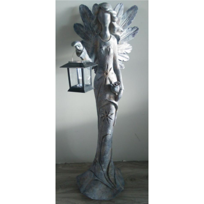 Fairy holding Lantern Solar Light