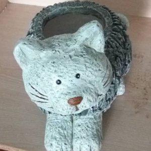Slate Kitten Planter