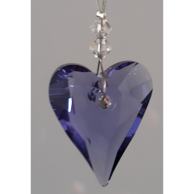 Heart 27mm – Tanzanite