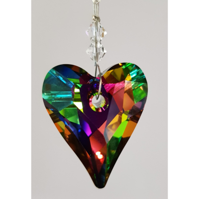 Crystal Heart 27mm – Vitrail Medium