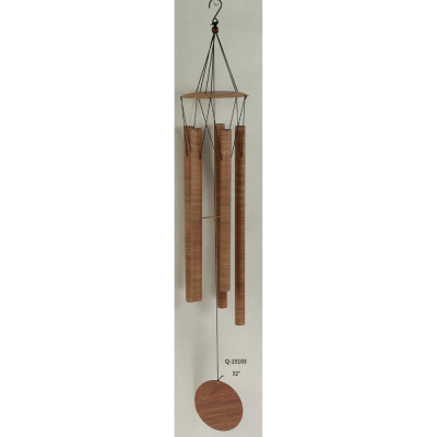 Mid Brown Marble Effect Wind Chime