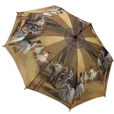 Degas – Ballet Lesson – Folding