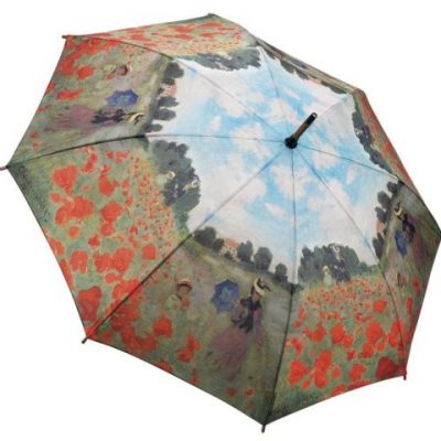 Monet Poppy Field Galleria Umbrella