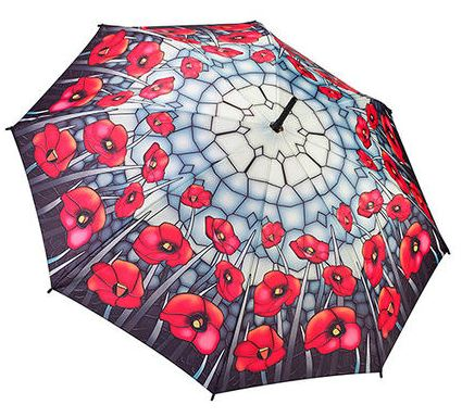 Stained Glass Poppies – Folding