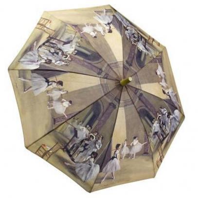 Degas Ballerina Childs Galleria Umbrella