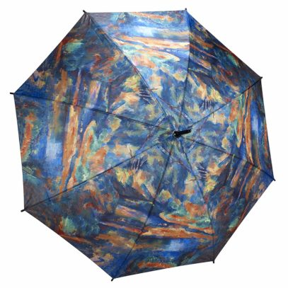 Paul Cezanne The Brook Galleria Umbrella