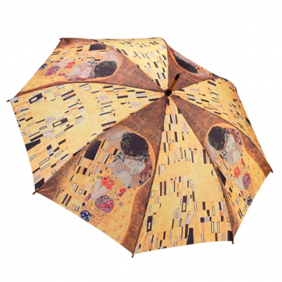 Gustav Klimt The Kiss Galleria Umbrella